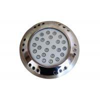 Cheap 12VDC Surface Mounted LED Swimming Pool Lights Underwater 54 Watt 3 Years Warranty for sale
