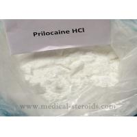 Cheap White Crystals Powder Local Anesthetic Drugs Prilocaine Hydrochloride HCL For Painkiller for sale
