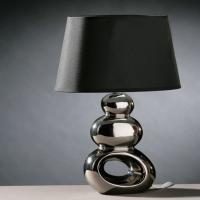 Cheap glass iron table lamp for sale