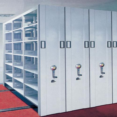 Metal Steel Mobile Filing Storage Cabinets/ Steel Movable Mass Shelves