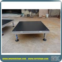 Easy Set Up Portable Stage Adjustable Height Stage For Sale Manufactures