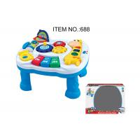Cheap Toddler Musical Learning Table Infant Baby Toys 12 Months With Light & Sound for sale