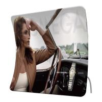 Cheap Custom Printed Arch Tension Fabric Displays , Portable Trade Show Display Stands for sale