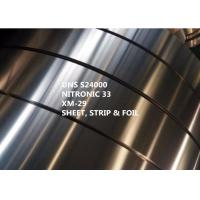 Cheap Stainless Steel Nitronic 33 Special Alloys For Medical With Yield Strength 469MPa for sale
