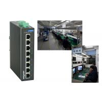 High reliablity VLAN division RJ45 8 port poe switch , 1.6Gbps industrial unmanaged ethernet switch
