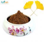 Cheap Medicinal Ginkgo Biloba Extract Powder Anti Aging Promoting Blood Circulation for sale