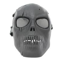 Cheap Skull Tactical Gear Mask / Full Face Mesh Mask For CS Or Airsoft Game for sale