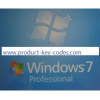 Cheap stable microsoft windows 7 professional product key activated / verified online for sale