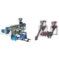 Cheap PVC Polyethylene Extruder Machine , Plastic Pelletizing Equipment For Wires Materials for sale