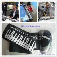 Cheap 2012 hot selling 61keys roll up piano for promotion! for sale