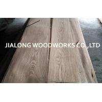 Cheap Ash Wood Veneer Sheet Crown Cut for Plywood With AA Grade for sale