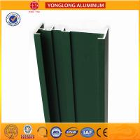 Cheap Square Green Powder Coated Aluminum Alloy Extrusion With Strong Stability for sale