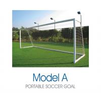 Buy cheap Standard Sports Facility And Accessory Freestanding Aluminum Portable Soccer Goals from wholesalers