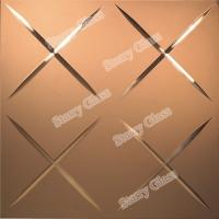 Cheap Decorative V Grooving Glass for sale
