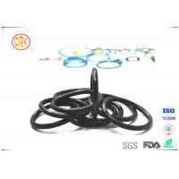 Good Quality Black Fuel Resistance NBR O Ring For Fuel Spray Nozzle Manufactures