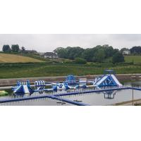 Buy cheap Giant Inflatable Water Park Games In Belfast  / Inflatable Water Circuit Manufacturer from wholesalers