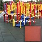Cheap Exterior gym / playground / swimming pool interlocking rubber tile dogbone crumb flooring for sale