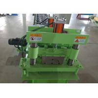 Cheap High Speed  Ridge Cap Roll Forming Machine 4KW Power With 12 Steps for sale