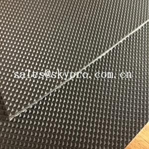 Cheap Wear Resistant Anti Static Mini Diamond Top Fabric PU / PVC Conveyor Belting for sale