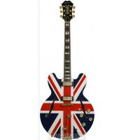 Cheap Epiphone Ltd Ed Union Jack Sheraton Outfit for sale