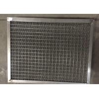 China Air Filter Pad Gas Liquid Separator 500 - 480 Mm Framed Knit Mesh on sale