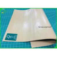 Buy cheap Foodgrade And Greaseproof PE Laminated Kraft Paper Roll For Lunch Box from wholesalers