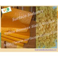 Cheap Yellow Beeswax Slab and Pellet,A Class and B Class In Cosmetic Industry for sale