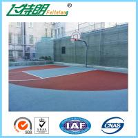 China Recycled Basketball Court Flooring Gym Floor Coating Tennis Court Paint 3mm on sale