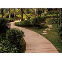 China Environmentally friendly plastic timber decking with long lifespan high strength outdoors plastic lumber on sale