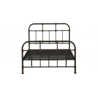 Cheap Comfortable Antique Strong Plasticity Industrial Double Bed Frame for sale