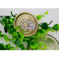 Cheap Plastic Bottle / Tuna Tin Cans Easy Open Lid , Food Storage Tinplate Cover for sale