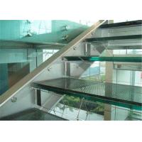 Cheap Commercial Building 10mm Laminated Glass , Clear / Colored Decorative Laminated Glass for sale