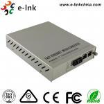 Cheap Managed Gigabit Ethernet Fiber Media Converter 2- Port 10 / 100 / 1000Base-T to 1000 Base-X for sale