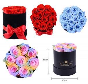 Cheap Factory Price Rose Long Lasting Flowers Forever Eternal Preserved Rose Flower Box Gift for sale