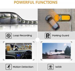 Cheap Dashcam Black Box Dual 1080P Car DVR 9.66 11.66 11.88 Inch Streaming Media Rear View Mirror for sale
