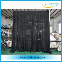Cheap Wedding backdrop stand easy to assemble pipe and drape stands for sale