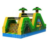 Inflatable Slide With Climbing For Fun Pvc Inflatables For Game Center Ce