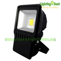 Cheap Exterior 120W High Power LED Flood Lights Ra75 For Landscape Lighting for sale