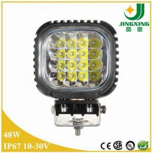 Cheap 48w led work light 12v 4 inch led work light 6000k led work light for trucks for sale