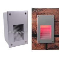 China Led Recessed Step Wall Light Warm White Aluminum Outdoor Stair Wall Lamp on sale