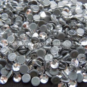 Cheap New strong grey glue heat transfer rhinestone hot fix strass cristal for sale