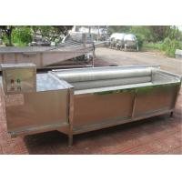 Quality Durable Potato Washing Machine For Industry Low Breaking Rate Easy To Operate wholesale