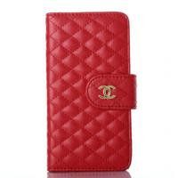 Cheap Chanel Flip Leather Case Diamond Iphone 6 Case Smart Phone Protection Cover for sale