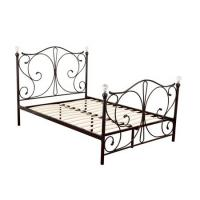 Cheap Sturdy Queen Size Metal Platform Bed Frame Eco Friendly Finish Easy Clean for sale