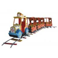 Cheap Large Capacity Outdoor Riding Train Set , Childrens Ride On Train In Theme Park for sale