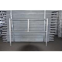 Cheap Ladder Mason Frame Frame Scaffolding System Galvanized / Painted Surface for sale