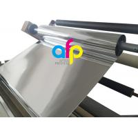 Cheap 1 Inch Core Glossy Metalized Thermal Lamination Film BOPP / PET Material for sale