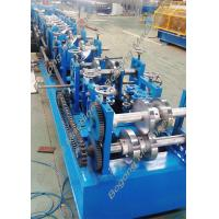 Cheap Custom Steel Frame Purlin Roll Forming Machine 18.5KW Driving Motor for sale