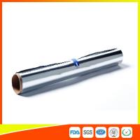 Cheap Household Aluminium Foil Roll For Food / Chocolate / Cheese / Butter Wrapping for sale