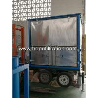 Cheap mobile type double-stage vacuum transformer oil purifier,open-air insulating oil filtration machine for power station for sale